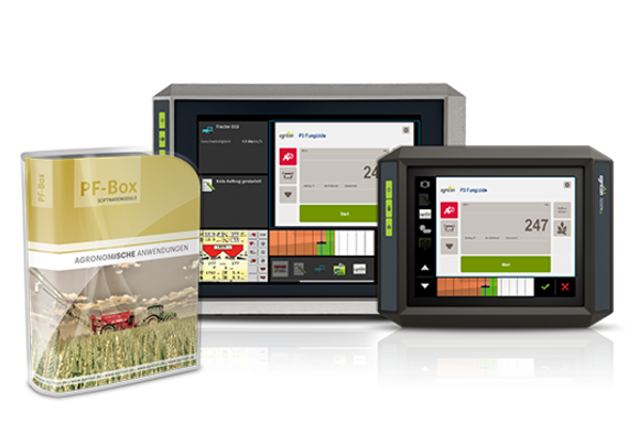 [Translate to Ungarisch:] Universal terminal & agronomic software